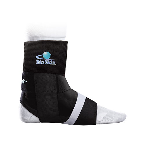 The BioSkin TriLok Ankle Ligaments Support is suitable for PTTD, sprains and ankle instability